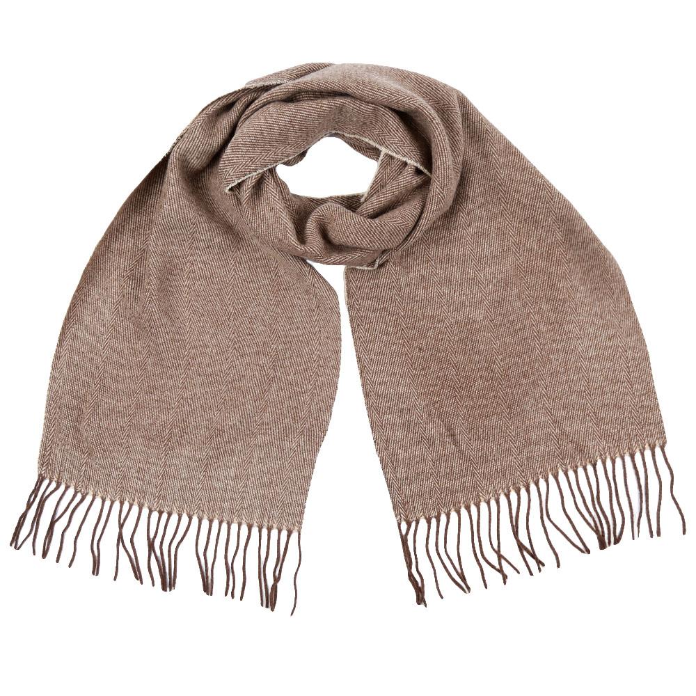 Шарф мужской Fabretti, цвет: коричневый. GY16001. Размер 30 см х 186 смGY16001-1Стильный шарф Fabretti поможет внести живость в любой образ, подарит уют и согреет от холодного ветра. Шарф дополнен длинной бахромой.