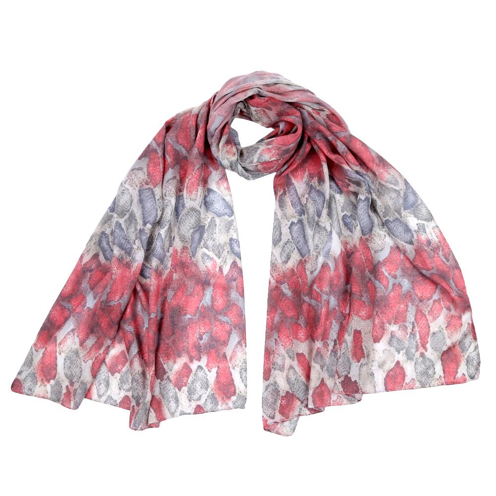 Шарф женский Fabretti, цвет: розовый. F1555. Размер 70 см х 195 смF1555-1Стильный шарф поможет внести живость в любой образ, подарит уют и согреет от холодного ветра. Выполнен из высококачественного материала и оформлен оригинальным принтом.
