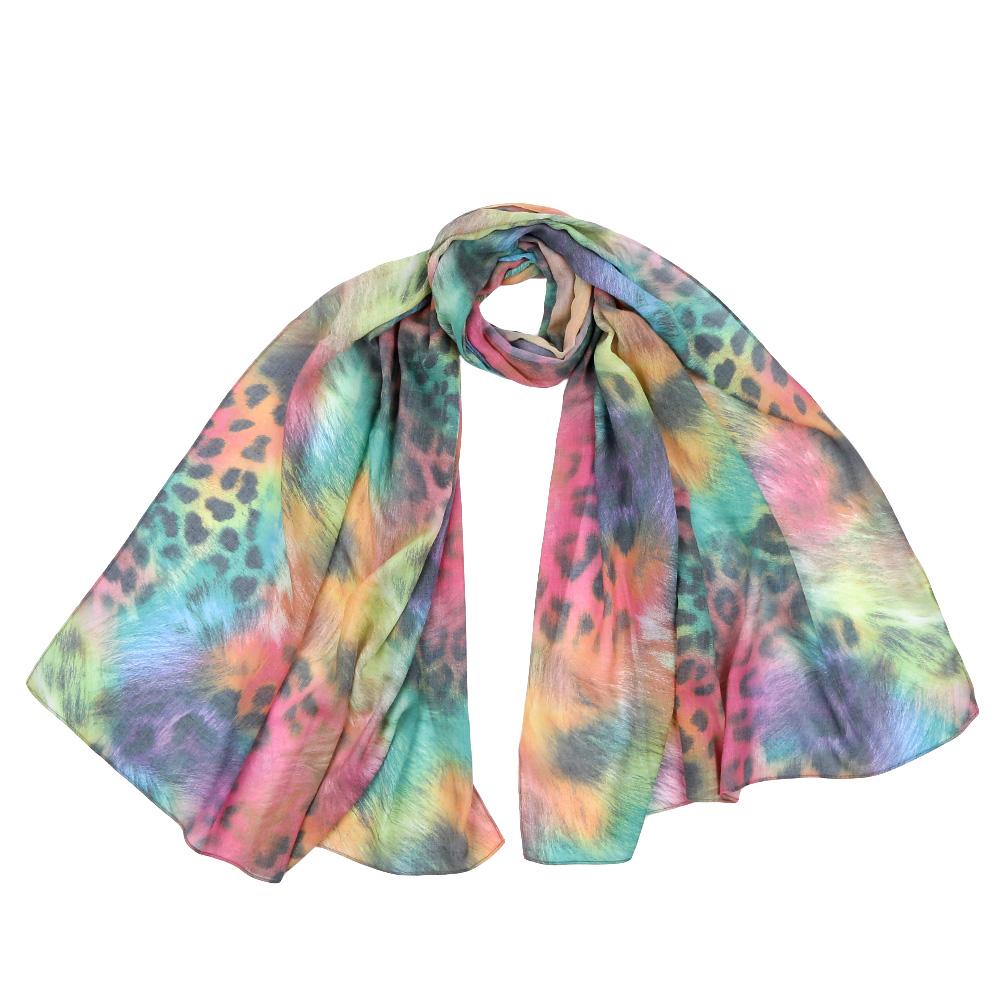 Шарф женский Fabretti, цвет: мультиколор. F1553. Размер 70 см х 190 смF1553-4Стильный шарф поможет внести живость в любой образ, подарит уют и согреет от холодного ветра. Выполнен из высококачественного материала и оформлен оригинальным принтом.
