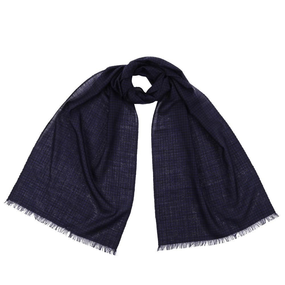 Шарф женский Fabretti, цвет: синий. 9170. Размер 40 см х 184 см9170-1Стильный шарф поможет внести живость в любой образ, подарит уют и согреет от холодного ветра. Выполнен из высококачественного материала и оформлен оригинальным принтом.