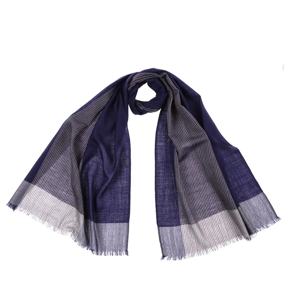 Шарф женский Fabretti, цвет: синий. 61218. Размер 55 см х 184 см61218-2Стильный шарф поможет внести живость в любой образ, подарит уют и согреет от холодного ветра. Выполнен из высококачественного материала и оформлен оригинальным принтом.