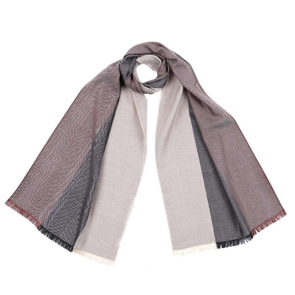 Шарф женский Fabretti, цвет: бежевый. 5839. Размер 40 см х 184 см5839-1Стильный шарф поможет внести живость в любой образ, подарит уют и согреет от холодного ветра. Выполнен из высококачественного материала и оформлен оригинальным принтом.