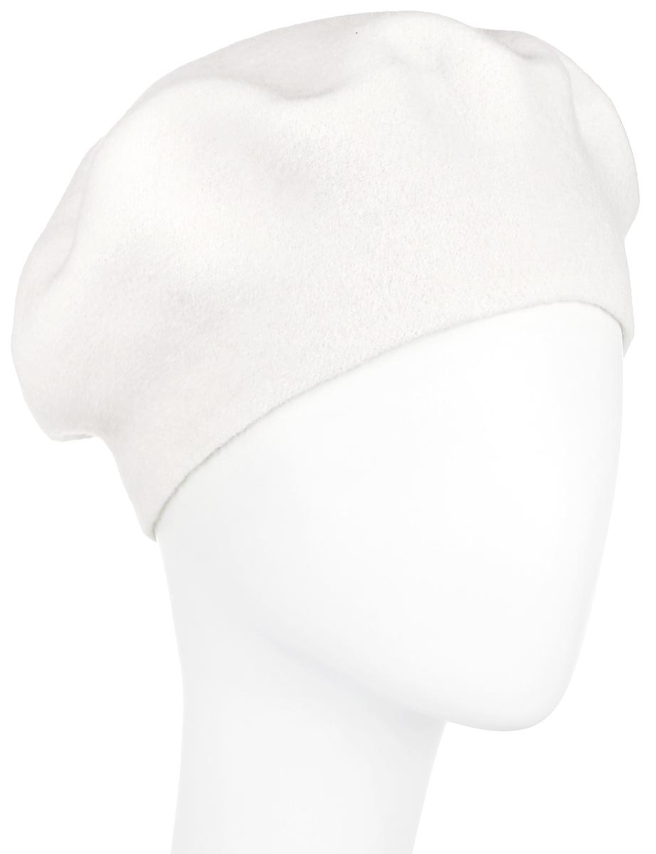 Берет женский Finn Flare, цвет: молочный. A16-11153_711. Размер 56A16-11153_711Элегантный шерстяной берет Finn Flare, который отлично дополнит ваш образ в холодную погоду. Сочетание различных материалов максимально сохраняет тепло и обеспечивает удобную посадку. Модель выполнена в лаконичном стиле и оформлена небольшим декоративнымэлементом в виде металлической пластины с названием бренда. Такой берет, составит идеальный комплект с модной верхней одеждой, в нем вамбудет уютно и тепло! Уважаемые клиенты!Размер, доступный для заказа, является обхватом головы.
