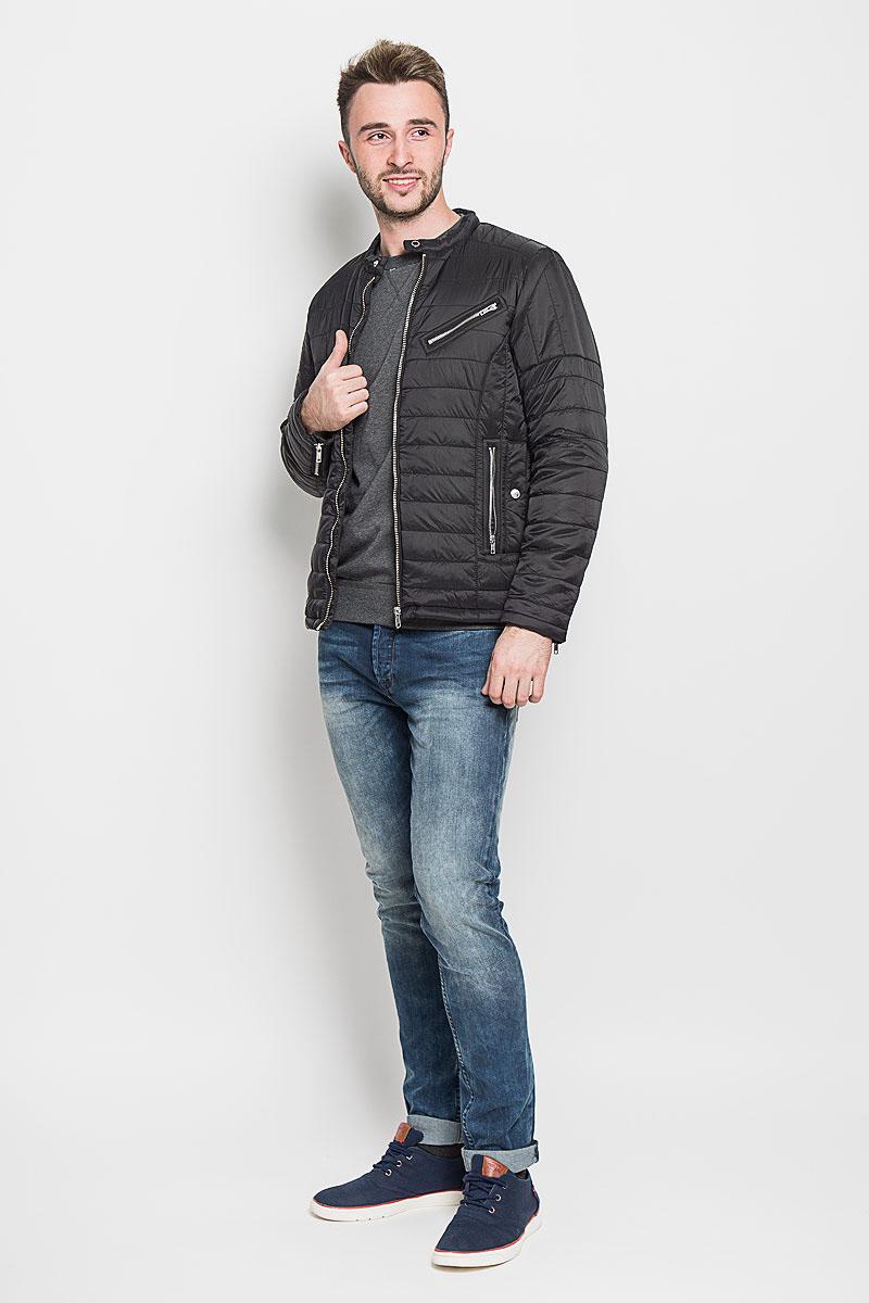 Куртка мужская Selected Homme, цвет: черный. 16053624. Размер XL (50) selected homme куртка