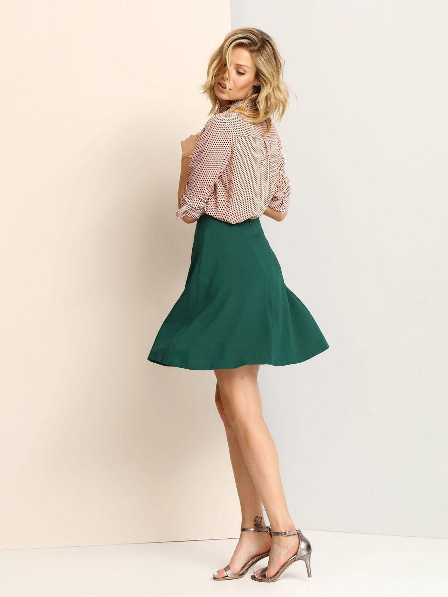 Юбка Top Secret, цвет: зеленый. SSD1006ZI. Размер 34 (40)SSD1006ZIЮбка Top Secret выполнена из высококачественного полиэстера. Модель сзади имеет потайную застежку-молнию, а по бокам дополнена втачными карманами. Оформлена юбка в лаконичном однотонном стиле.