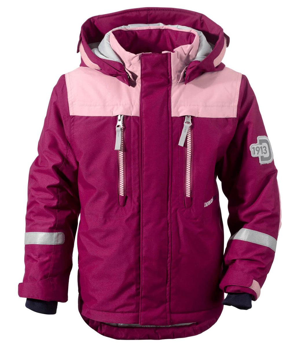 Куртка детская Didriksons1913 Hamres, цвет: темная фуксия. 501060_196. Размер 100