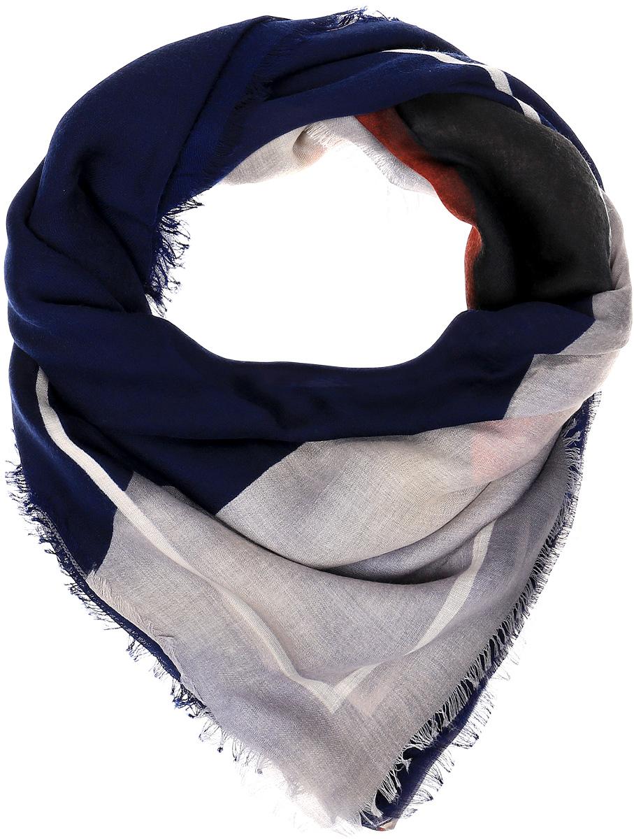 Платок женский Sophie Ramage, цвет: синий. YY-21644-3. Размер 140 см x 140 смYY-21644-3Элегантный платок Sophie Ramage станет достойным завершением вашего образа. Платок изготовлен из высококачественного модала с добавлением шерсти. Оформлена модель стильным принтом. Платок красиво драпируется, он превосходно дополнит любой наряд и подчеркнет ваш изысканный вкус. Легкий и изящный палантин привнесет в ваш образ утонченность и шарм.