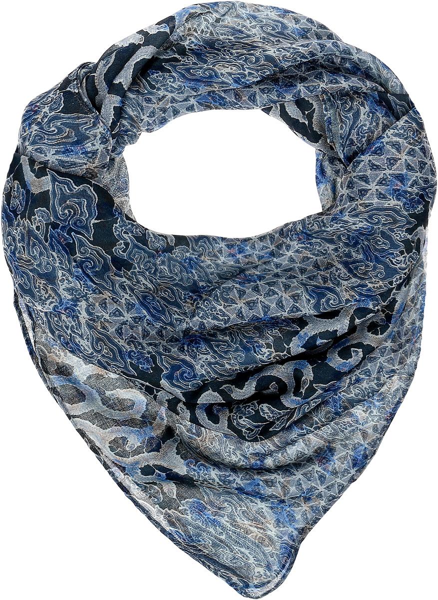 Платок женский Laura Milano, цвет: синий, голубой. YY-11699. Размер 90 см х 90 смYY-11699Элегантный платок Sophie Ramage станет достойным завершением вашего образа. Платок изготовлен из высококачественной вискозы. Оформлена модель контрастным принтом. Платок красиво драпируется, он превосходно дополнит любой наряд и подчеркнет ваш изысканный вкус. Легкий и изящный палантин привнесет в ваш образ утонченность и шарм.