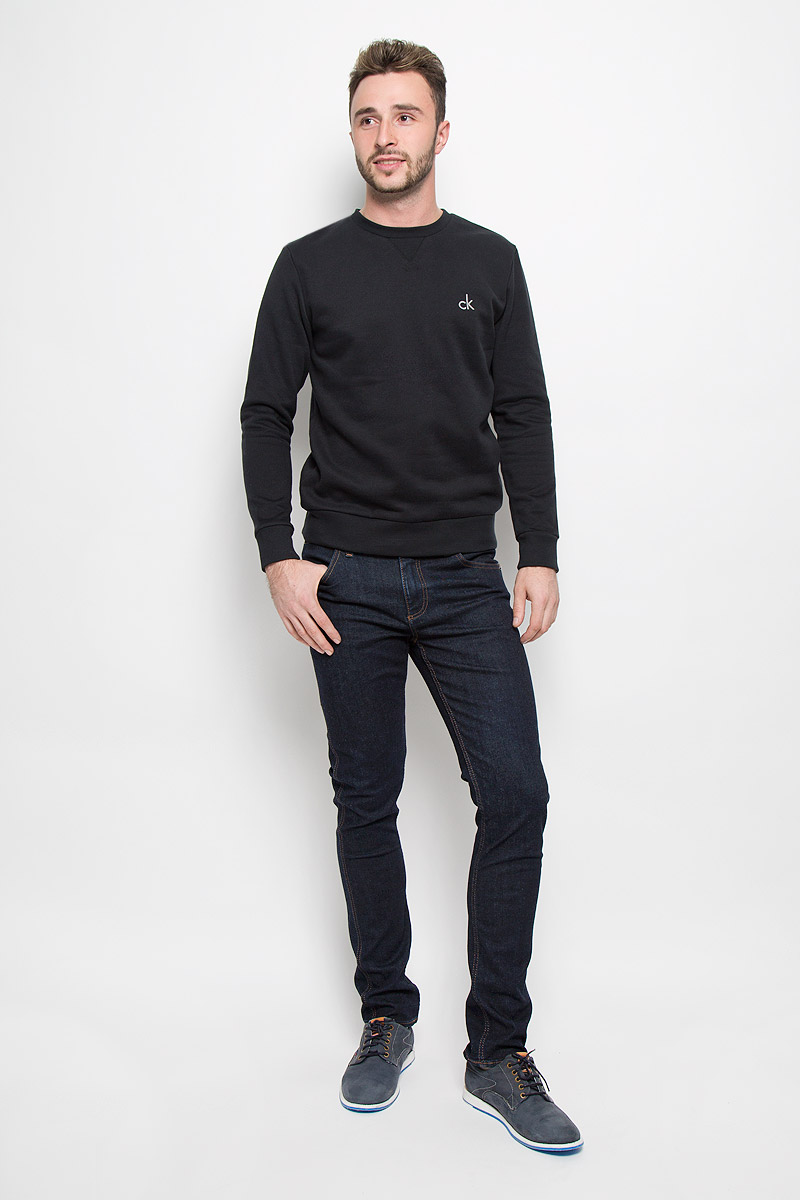 Джинсы мужские Calvin Klein Jeans, цвет: темно-синий. J30J300977_9134. Размер 36 (56/58)A16-21102_101