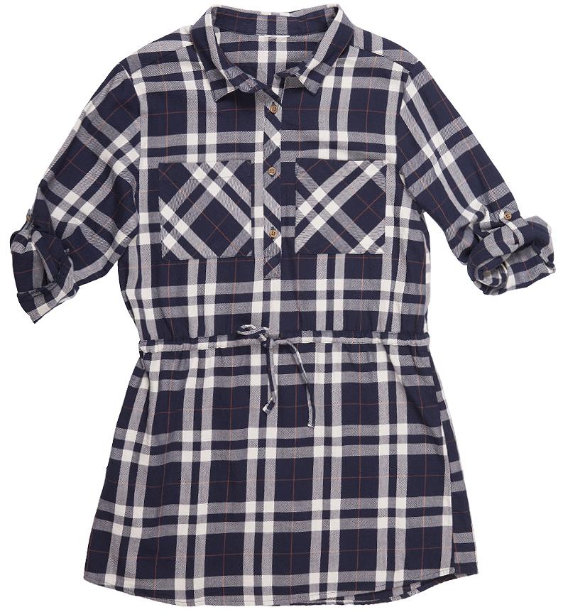 Платье Button Blue, цвет: белый, синий. 216BBGC25011402. Размер 98, 3 года216BBGC25011402Платье для девочки модной свободной формы, крупные накладные карманы, утяжка по линии талии делают модель ярким акцентом повседневного образа. С брюками, лосинами, плотными колготками платье составит прекрасный комплект на каждый день. Стильное клетчатое платье - идеальный вариант для тех, кто идет в ногу со временем, предпочитая навязчивому гламуру легкость и комфорт стиля casual.