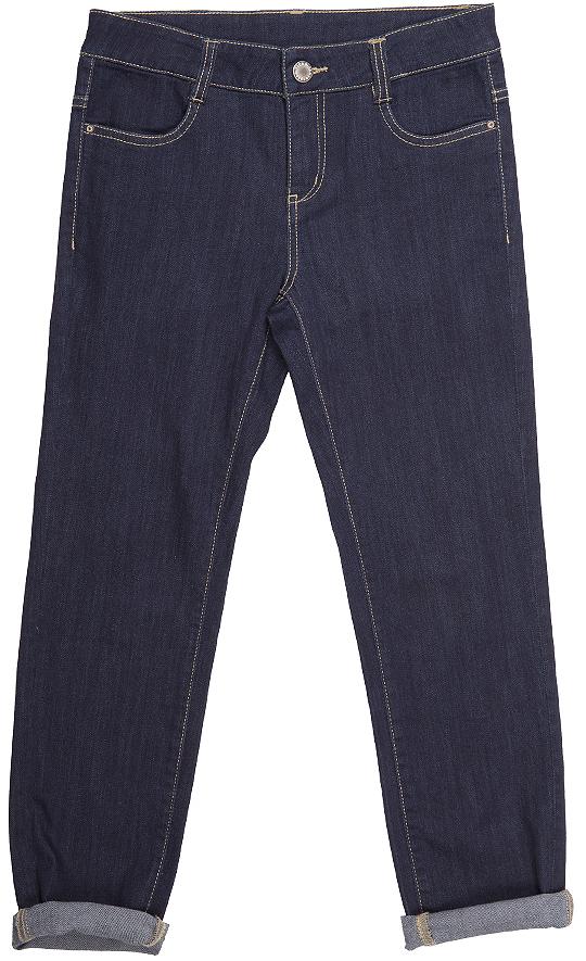 Джинсы для девочки Button Blue, цвет: темно-синий. 216BBGC6303D500. Размер 98, 3 года216BBGC6303D500Хорошие джинсы - залог отличного настроения! Модный облегающий силуэт, удобная посадка на фигуре подарят девочке комфорт и свободу движений. Выполнены из высококачественного материала.