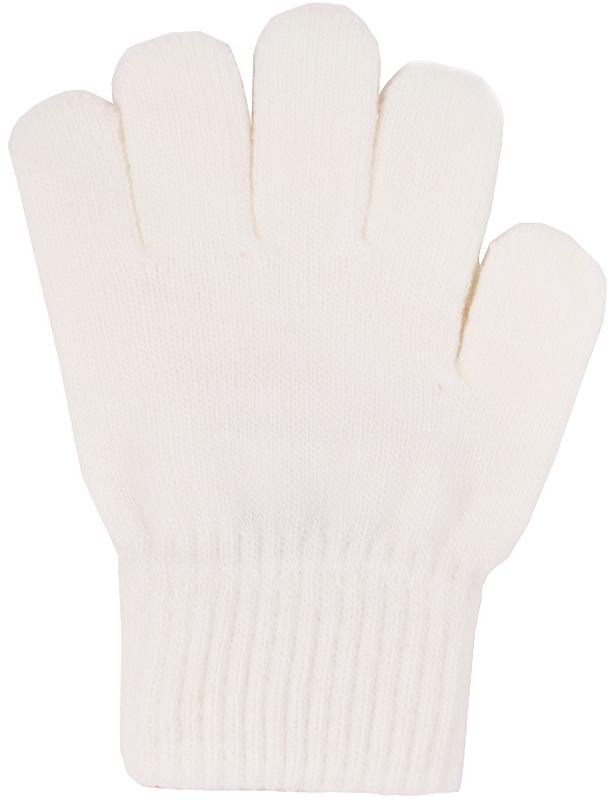 Перчатки детские Button Blue, цвет: молочный. 216BBUX76011400. Размер 14, 6-8 лет216BBUX76011400Детские вязаные перчатки Button Blue, изготовленные из пряжи сложного состава акрила с добавлением полиэстера и хлопка, станут идеальным вариантом для прохладной погоды. Они хорошо сохраняют тепло, мягкие, идеально сидят на руке и хорошо тянутся.Манжеты перчаток связаны плотной резинкой, благодаря чему перчатки надежно фиксируются на ручках малыша. Однотонная расцветка делает эти перчатки стильным и практичным предметом детского гардероба. В них ваш ребенок будет чувствовать себя уютно и комфортно!