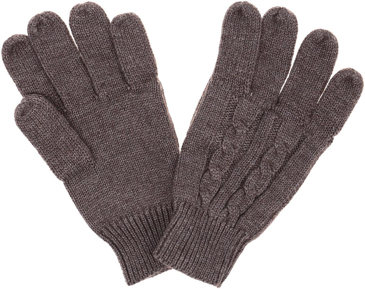 Перчатки для мальчика Sela, цвет: серо-коричневый. GL-843/055-6302. Размер 16GL-843/055-6302Детские вязаные перчатки Sela, изготовленные из мягкого материала, отлично подойдут для ребенка. Они максимально сохраняют тепло, мягкие, идеально сидят на руке и хорошо тянутся. Манжеты перчаток связаны плотной резинкой, благодаря чему перчатки надежно фиксируются на ручках ребенка. Оформлено изделие интересным вязанным узором. Перчатки станут идеальным вариантом для прохладной погоды, в них ребенку будет тепло и комфортно.