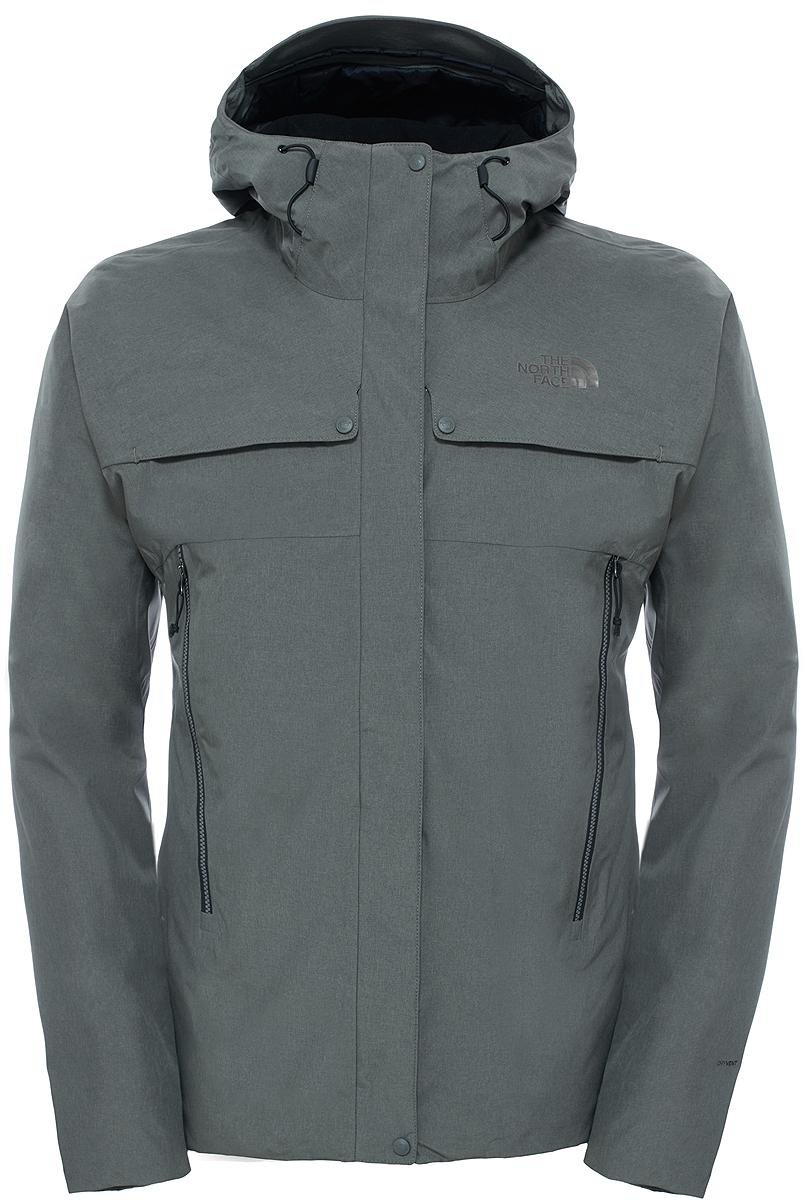 Куртка мужская The North Face M Torendo Jacket, цвет: серый. T92U7THSE. Размер XL (44/46)T92U7THSEКуртка The North Face M Torendo сохраняет тепло и сухость и идеально подходит для любых зимних приключений. Утеплитель Heatseeker сохранит тепло среди льда и снега, а материал DryVent выведет влагу, обеспечивая полный комфорт для катания на лыжах и игры в снежки в течение нескольких часов. Для дополнительной защиты в ветреную погоду наденьте и отрегулируйте капюшон и закройте лицо воротником из теплого трикотажа с начесом. Куртка застегивается на молнию и кнопки.