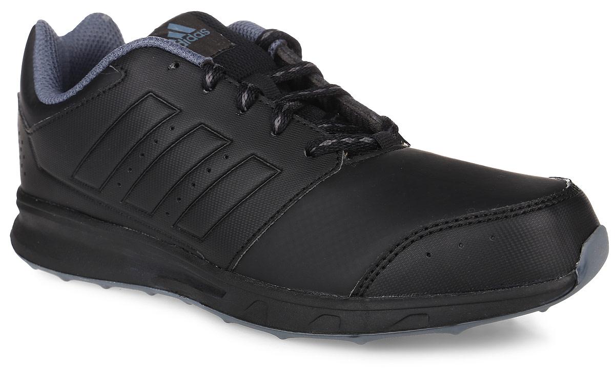 Кроссовки для бега детские adidas Perfromance Lk Sport 2 K, цвет: черный. AQ3739. Размер 3,5 (35,5)AQ3739Детские кроссовки для бега adidas Perfromance Lk Sport 2 K выполнены из искусственной кожи с перфорацией. Язычок выполнен из сетчатого текстильного материала. Обувь фиксируется на ноге при помощи классической шнуровки. Подкладка выполнена из текстиля, стелька изготовлена из ЭВА с текстильным покрытием. Немаркая подошва из резины дополнена рифлением и мелкими шипами.