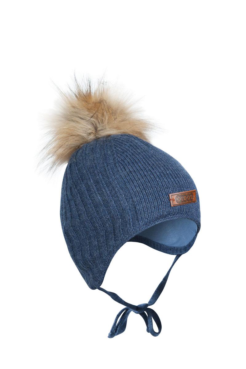 Шапка для мальчика OLDOS Карл, цвет: серо-голубой. 1Ш1615. Размер 46/481Ш1615Шапка-бэби с завязками Карл из зимней коллекции OLDOS прекрасно защитит головку вашего малыша от снегопада, мороза и ветра. Такая шапка хорошо закрывает ушки, завязки фиксируют шапку так, чтобы ничего не мешало игре или прогулке. Шапка мягкая и теплая благодаря утеплителю холлофайбер плотностью 70 г и составу пряжи 70% шерсть и 30% акрил. Подкладка из вискозы отводит излишнюю влагу и сохраняет ощущение комфорта во время прогулок. Шапка дополнена декоративным отворотом и съемным помпоном из искусственного меха.