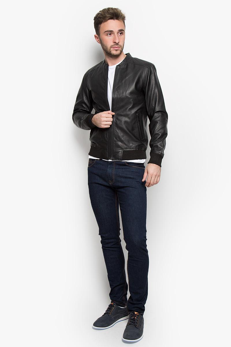 Куртка мужская Selected Homme, цвет: черный. 16051618. Размер XL (50) selected homme куртка