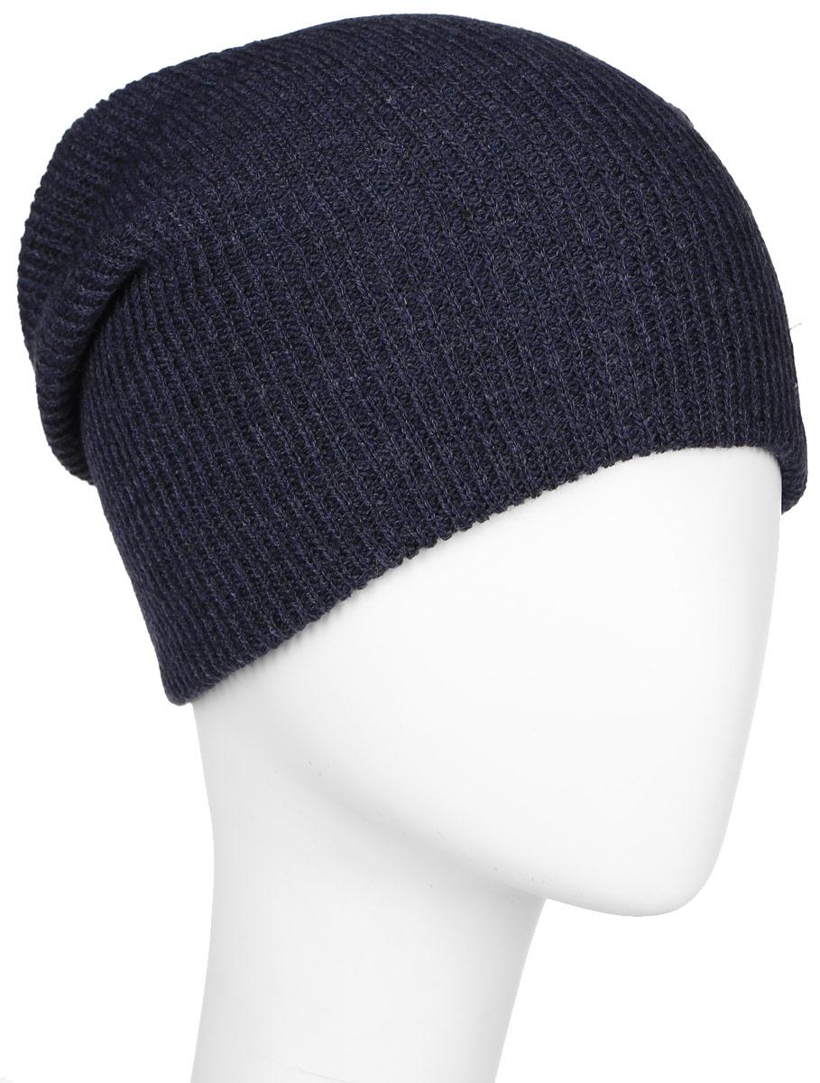 Шапка мужская Quiksilver Cushy Slouch, цвет: темно-синий меланж. AQYHA03561-BYJH. Размер универсальныйAQYHA03561-BYJHКлассическая мужская шапка Quiksilver отлично дополнит ваш образ в холодную погоду. Выполненная из акрила она максимально сохраняет тепло и обеспечивает удобную посадку, невероятную легкость и мягкость. Шапка оформлена небольшой нашивкой с названием бренда. Стильная шапка Quiksilver подчеркнет ваш неповторимый стиль и индивидуальность. Такая модель составит идеальный комплект с модной верхней одеждой, в ней вам будет уютно и тепло.