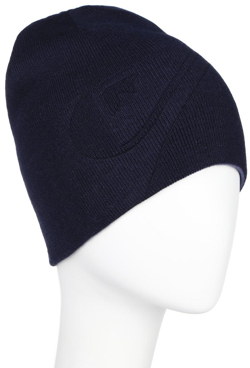 Шапка мужская Quiksilver Heatbag, цвет: синий, темно-синий. AQYHA03568-BYJ0. Размер универсальныйAQYHA03568-BYJ0Двусторонняя мужская шапка Quiksilver отлично дополнит ваш образ в холодную погоду. Выполненная из акрила она максимально сохраняет тепло и обеспечивает удобную посадку, невероятную легкость и мягкость. Шапка оформлена надписью в виде названия бренда. Стильная шапка Quiksilver подчеркнет ваш неповторимый стиль и индивидуальность. Такая модель составит идеальный комплект с модной верхней одеждой, в ней вам будет уютно и тепло.