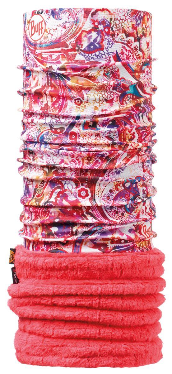 Бандана Buff Polar Cosamais Cayenne, цвет: розовый. 108953.00. Размер 53/62 см108953.00Теплая бандана-шарф из серии Polar Buff. Polar Buff - это бандана-труба из серии Original Buff, пришитая к цилиндру из Polartec Classic Fleece 100. В холодную погоду Polar Buff поддерживает нормальную температуру тела и предотвращает потерю тепла, благодаря комбинации микрофибры и Polartec. Благодаря своей универсальности, функциональности и практичности Polar Buff завоевал огромную популярность среди людей, ее можно использовать как шапку, шарф, бандану на лицо и уши, балаклаву, маску. Неотъемлемая часть зимней одежды, подходит для любой активности в холодное время года.