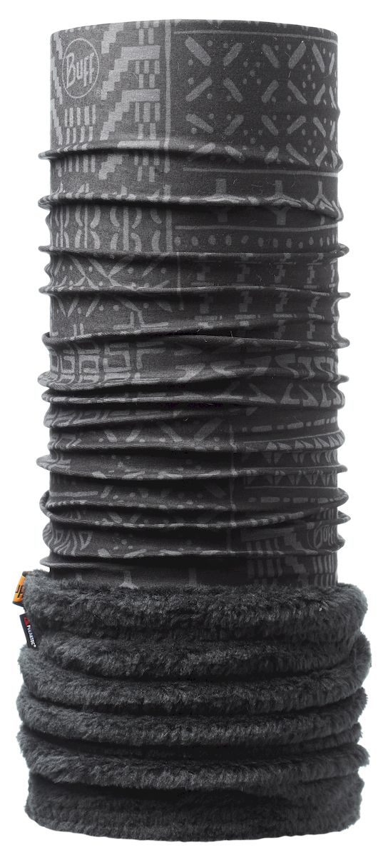 Бандана Buff Polar Gao Black, цвет: черный. 108954.00. Размер 53/62 см108954.00Теплая бандана-шарф из серии Polar Buff. Polar Buff - это бандана-труба из серии Original Buff, пришитая к цилиндру из Polartec Classic Fleece 100. В холодную погоду Polar Buff поддерживает нормальную температуру тела и предотвращает потерю тепла, благодаря комбинации микрофибры и Polartec. Благодаря своей универсальности, функциональности и практичности Polar Buff завоевал огромную популярность среди людей, ее можно использовать как шапку, шарф, бандану на лицо и уши, балаклаву, маску. Неотъемлемая часть зимней одежды, подходит для любой активности в холодное время года.