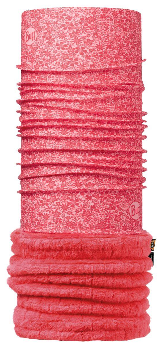 Бандана Buff Polar Thermal Atinna Blush Cayenne-Blush-Standard, цвет: розовый. 113128.505.10.00. Размер 53/62 см113128.505.10.00Теплая бандана-шарф из серии Polar Buff. Polar Buff - это бандана-труба из серии Original Buff, пришитая к цилиндру из Polartec Classic Fleece 100. В холодную погоду Polar Buff поддерживает нормальную температуру тела и предотвращает потерю тепла, благодаря комбинации микрофибры и Polartec. Благодаря своей универсальности, функциональности и практичности Polar Buff завоевал огромную популярность среди людей, ее можно использовать как шапку, шарф, бандану на лицо и уши, балаклаву, маску. Неотъемлемая часть зимней одежды, подходит для любой активности в холодное время года.