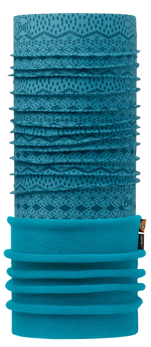 Шарф Buff Polar Sen Blue Blue Capri, цвет: синий. 113100.707.10.00. Размер 53/62 см113100.707.10.00Теплая бандана-шарф из серии Polar Buff. Polar Buff - это бандана-труба из серии Original Buff, пришитая к цилиндру из Polartec Classic Fleece 100. В холодную погоду Polar Buff поддерживает нормальную температуру тела и предотвращает потерю тепла, благодаря комбинации микрофибры и Polartec. Благодаря своей универсальности, функциональности и практичности Polar Buff завоевал огромную популярность среди людей, ее можно использовать как шапку, шарф, бандану на лицо и уши, балаклаву, маску. Неотъемлемая часть зимней одежды, подходит для любой активности в холодное время года.