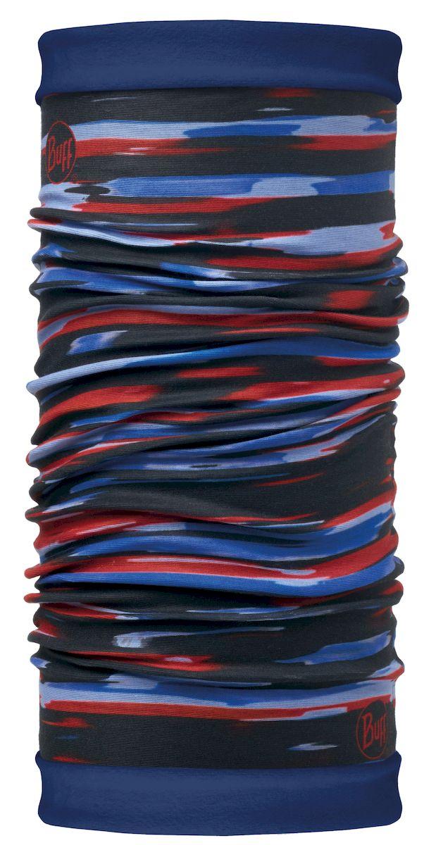 Шарф Buff Reversible Polar New Elder Multi Blue Depths-Multi-Standard, цвет: синий. 113137.555.10.00. Размер 53/62 см113137.555.10.00Самым теплым шарфом в виде трубы является именно эта серия Buff Reversible. Бандана-шарф изготовлена в виде трубы высотой 50 см. Снаружи усилена эластичной тканью из полиэстера, на который нанесен красочный узор, а внутри по всей поверхности утеплена мягким и теплым флисом. Такую бандану-трубу можно использовать в качестве шарфа, маски на лицо и даже шапки. Подходит для средней и низкой активности или для занятий спортом в холодное время года, особенно если эти занятия связаны с периодами отдыха. Например, при катании на сноуборде, горных лыжах или просто прогулках в сильный мороз.