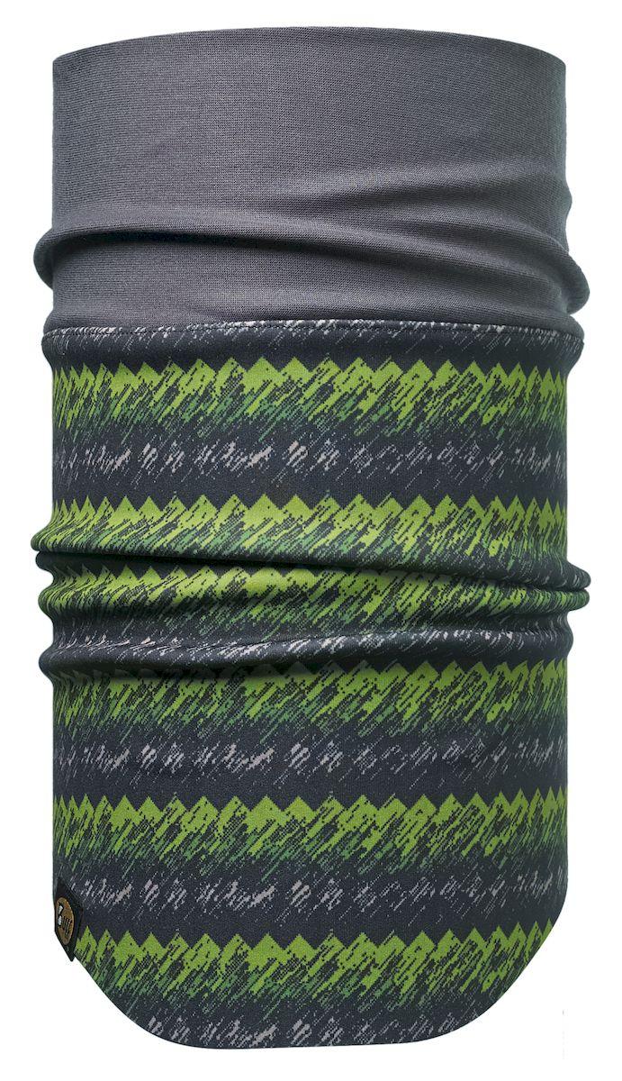 Шарф Buff Windproof Neckwarmer Vongreen-Green-Standard, цвет: серый. 113241.845.10.00. Размер 53/62 см113241.845.10.00Шарф с мембраной Windstopper. Высокая степень защиты от ветра и непогоды. Подходит для катания и активного отдыха.