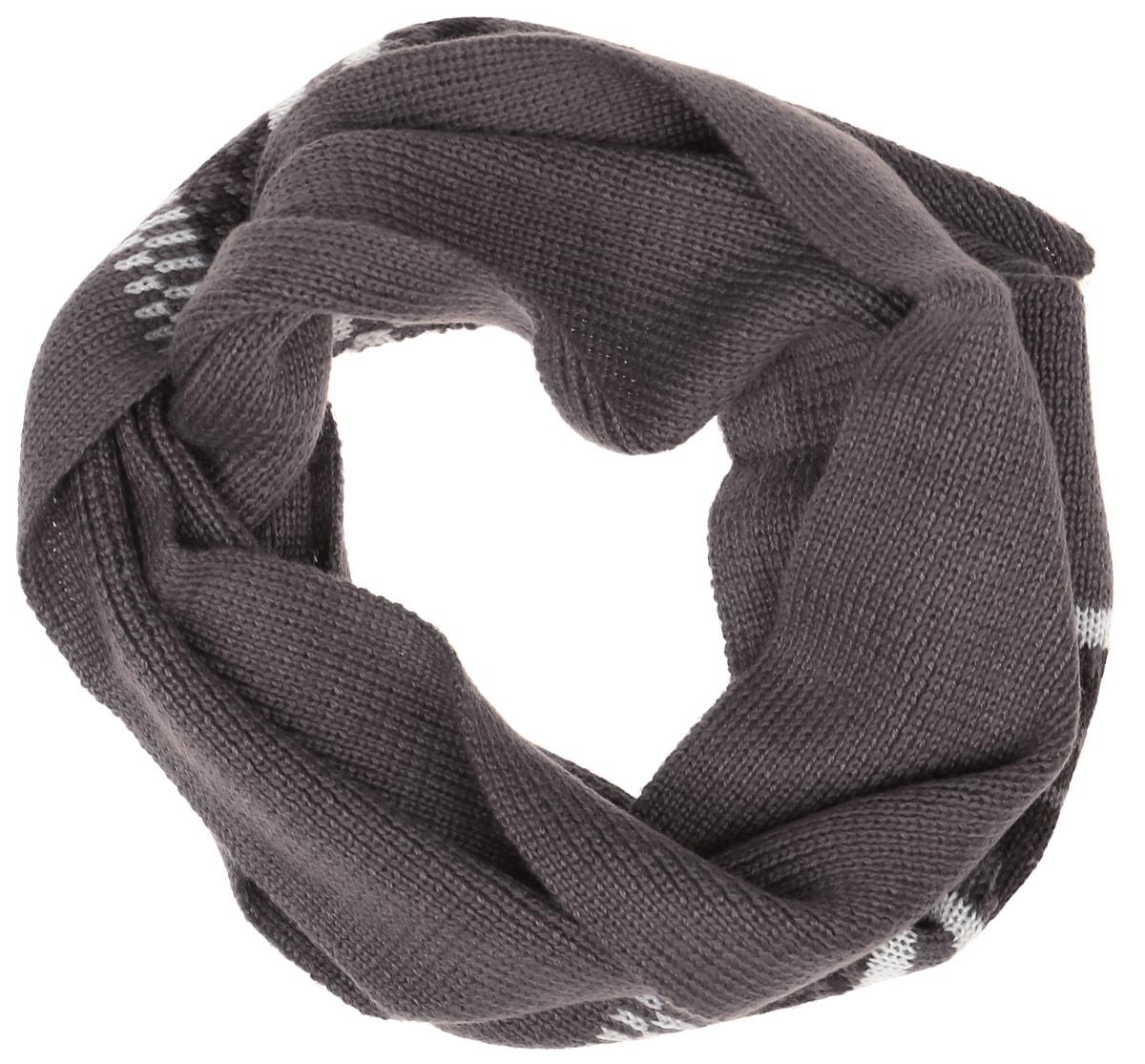 Шарф для мальчика Sela, цвет: коричневый. SC-842/054AG-6404. Размер 130 см х 15 смSC-842/054AG-6404Теплый трикотажный шарф для мальчика Sela защитит вашего ребенка от сильного ветра и холода. Выполненный из акрила с добавлением шерсти, он мягкий и приятный на ощупь. Модель оформлена полосками и узорами. Такой шарф станет стильным предметом детского гардероба. В нем ваш ребенок будет чувствовать себя тепло, уютно и комфортно.