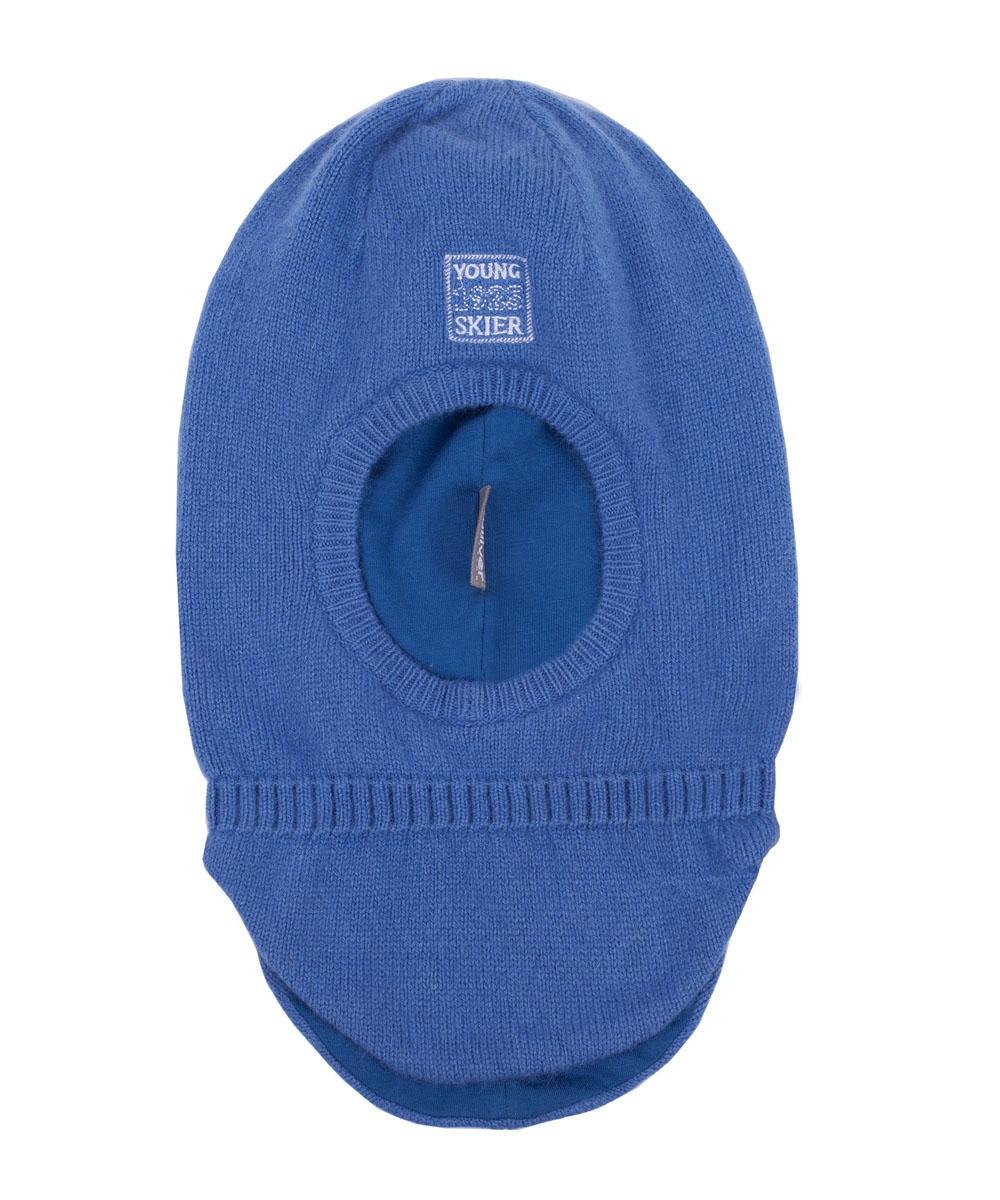 Шапка-шлем для мальчика Gulliver, цвет: синий. 21603BMC7302. Размер 5021603BMC7302Детская шапка-шлем - необходимый аксессуар для морозной погоды! Его главное предназначение - защита от холода и ветра, и с этой задачей он справится на все 100! Прекрасный состав пряжи, а также хлопковая подкладка гарантируют тепло и комфорт. В оформлении модели деликатная вышивка. Если вы решили купить шапку-шлем, эта модель - прекрасный выбор!