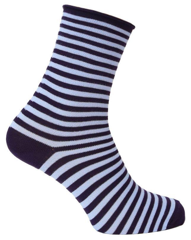 Носки женские Tesema, цвет: фиолетовый, голубой. 2543. Размер 37/392543Женские носки для повседневной носки средней плотности, без резинки. Обладают высокой износостойкостью. Мягкое как шелк природное волокно бамбука придает чрезвычайно нежное ощущение при соприкосновении с кожей, хорошо дышит, впитывает влагу и распределяет тепло. Носок и пятка сотканы из сученой нити, что значительно увеличивает износостойкость носок. Носки Tesema - традиционно высокое европейское качество и финские технологии.