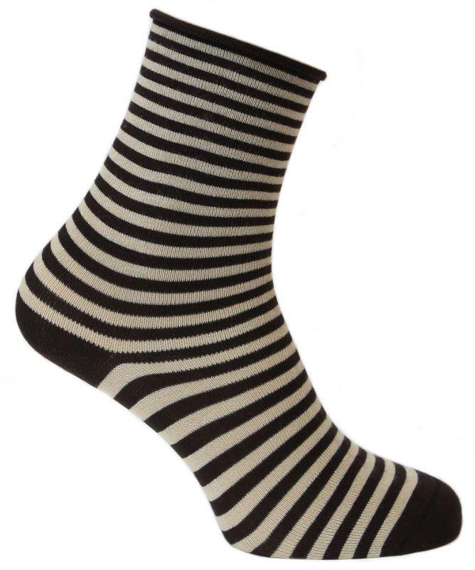 Носки женские Tesema, цвет: коричневый, бежевый. 2543. Размер 37/392543Женские носки для повседневной носки средней плотности, без резинки. Обладают высокой износостойкостью. Мягкое как шелк природное волокно бамбука придает чрезвычайно нежное ощущение при соприкосновении с кожей, хорошо дышит, впитывает влагу и распределяет тепло. Носок и пятка сотканы из сученой нити, что значительно увеличивает износостойкость носок. Носки Tesema - традиционно высокое европейское качество и финские технологии.
