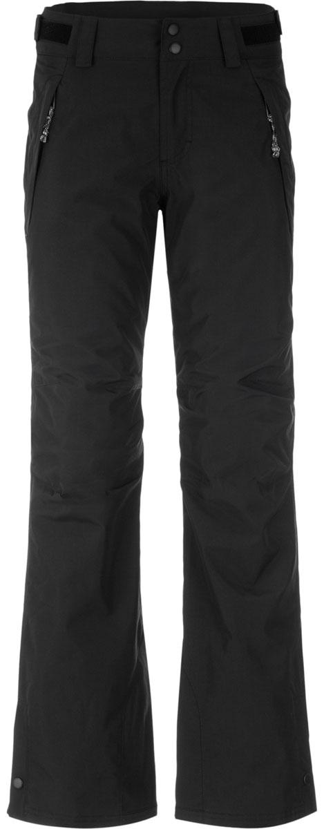 Брюки женские для сноуборда ONeill Pw Star Pant Insulated, цвет: черный. 658650-9010. Размер XL (50)658650-9010Женские сноубордические брюки стандартной посадки выполнены из высококачественного материала. Кроме основных конструктивных особенностей, присущих сноубордическим брюкам, в модели есть дополнительные элементы, такие как регулировка ширины по низу брюк, укрепленный материал по низу брюк, система крепления брюк к куртке, артикулируемые колени, снегозащитные гетры, регулируемый пояс, проклеенные швы, водонепроницаемые молнии, которые в совокупности обеспечивают дополнительные комфортные условия в использовании. Ткань обработана по технологии HyperDry - нанотехнология нового поколения обеспечивает стойкое влагоотталкивающее покрытие, позволяющее ткани быстро сохнуть, сохраняя при этом ее воздухопроницаемые свойства и оставаясь мягкой на ощупь. Карманы помогут разместить все необходимые мелочи.
