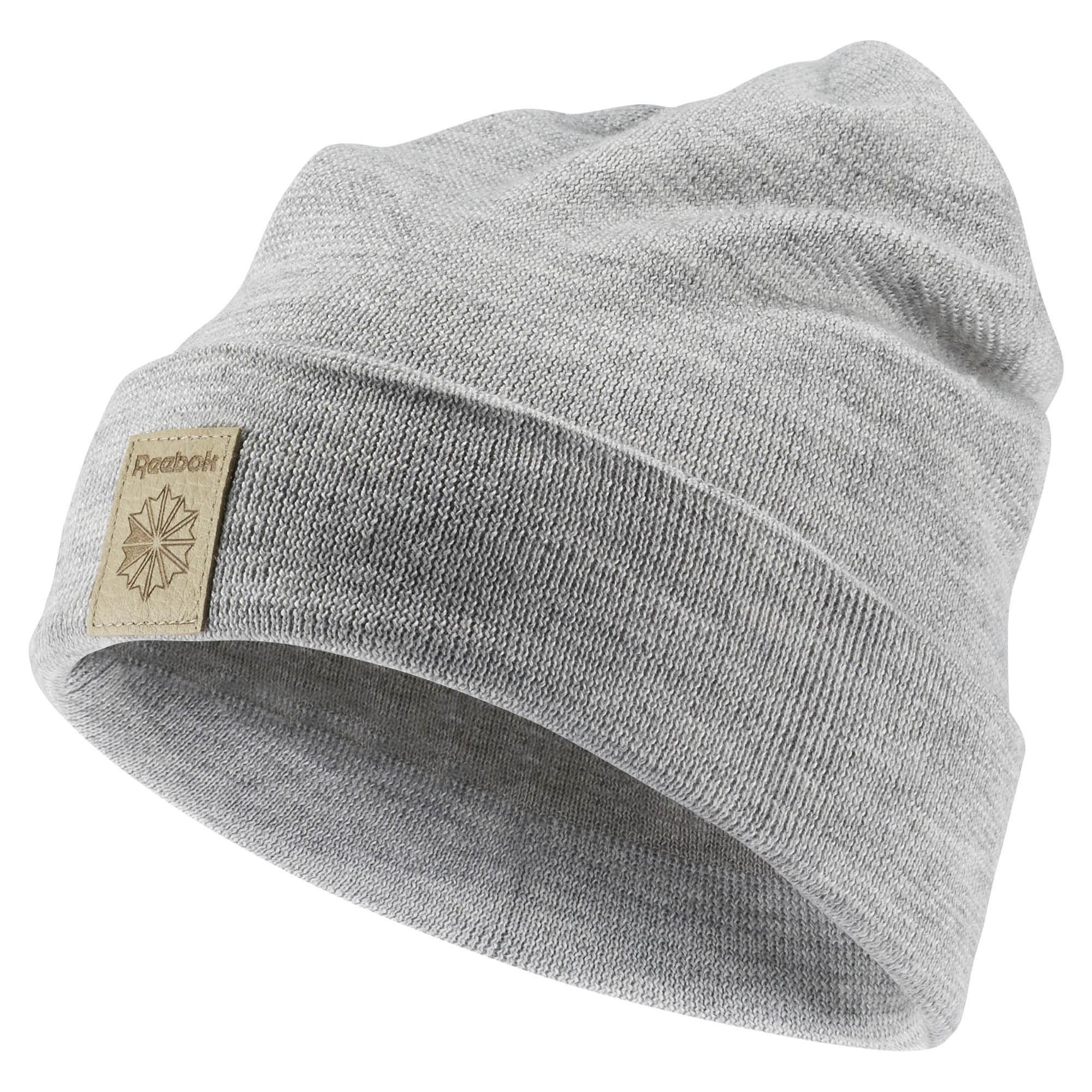Шапка Reebok Classics Foundation Beanie, цвет: серый. AX9979. Размер 58/60AX9979Стильная шапка Reebok Classics Foundation Beanie выполнена из акрила с добавлением шерсти и с подкладкой из натурального хлопка.Шапка оформлена небольшой вышивкой с фирменным логотипом.Уважаемые клиенты!Размер, доступный для заказа, является обхватом головы.