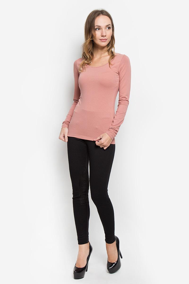 Лонгслив женский Broadway Alessia, цвет: темно-розовый. 10156602. Размер M (46)10156602_318Женский лонгслив Broadway Alessia выполнен из мягкого эластичного хлопка. Материал изделия тактильно приятный, не стесняет движений и позволяет коже дышать, обеспечивая комфорт. Однотонная модель с круглым вырезом горловины - базовый элемент одежды, необходимый для создания большинства повседневных образов.Лаконичный дизайн и совершенство стиля подчеркнут вашу индивидуальность!