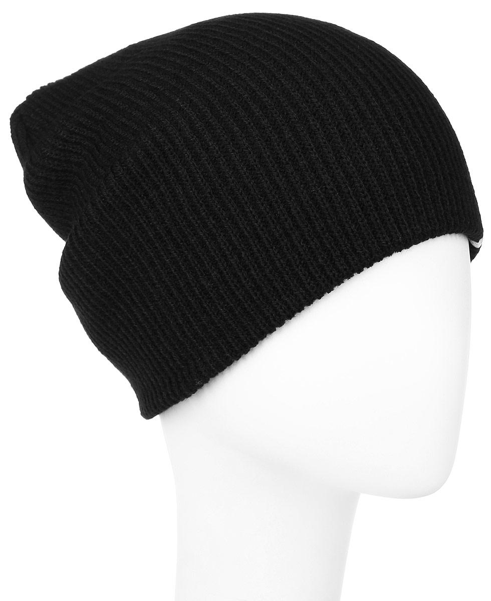 Шапка женская ONeill Bw Chamonix, цвет: черный. 659128-9010. Размер универсальный659128-9010Удлиненная женская спортивная шапка ONeill Bw Chamonix выполнена из 100% акрила. Модель связана резинкой и превосходно тянется.