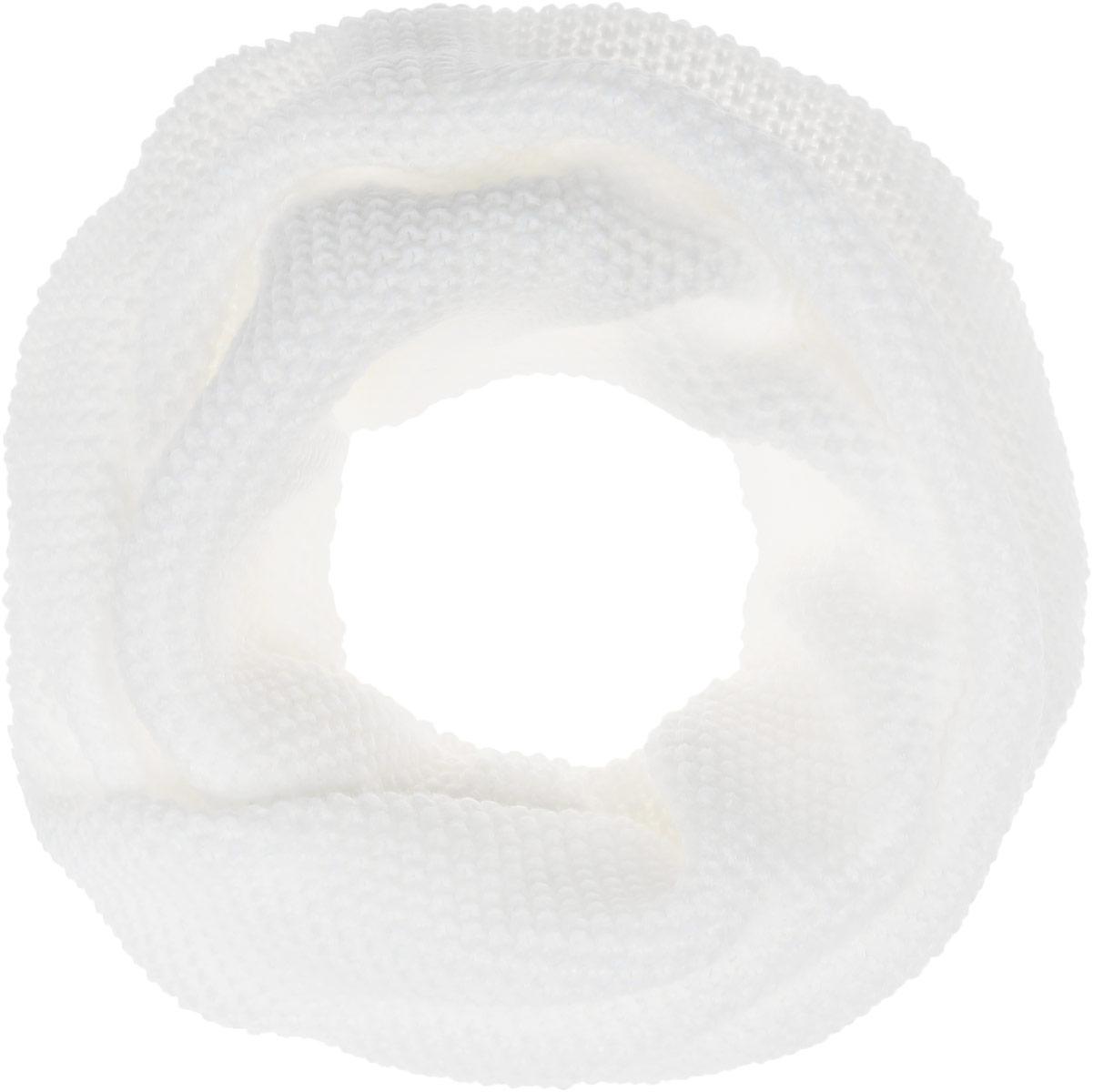Снуд-хомут женский Baon, цвет: молочный. B337. Размер 80 см х 62 смB337_MILKЖенский вязаный снуд-хомут Baon выполнен из шерсти и акрила. Модель связана кольцом, сужается сзади и красиво драпируется спереди, имитируя шейный платок.