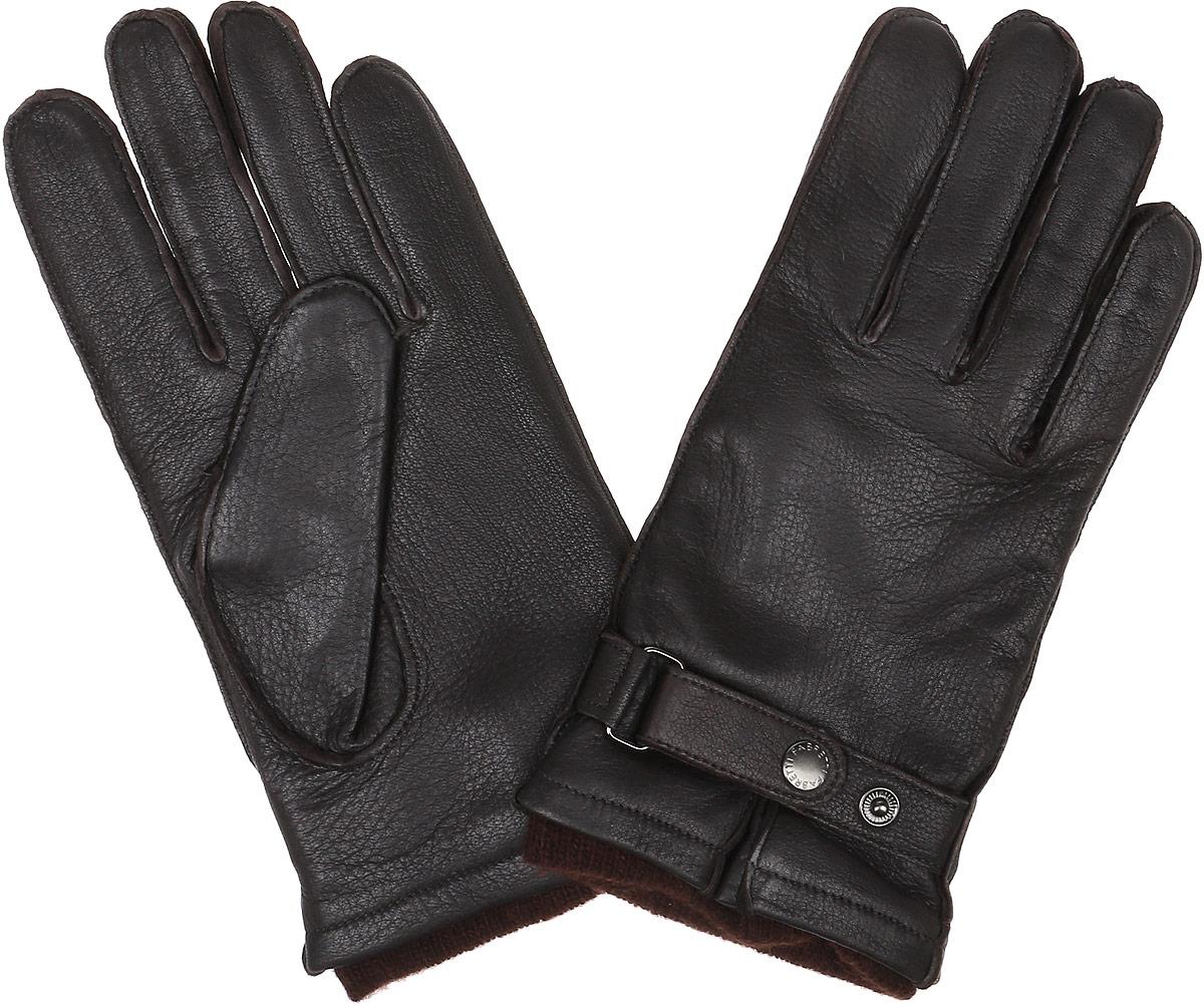 Перчатки мужские Fabretti, цвет: темно-коричневый. 22.28-2. Размер 1022.28-2 chocolatСтильные мужские перчатки Fabretti не только защитят ваши руки, но и станут великолепным украшением. Перчатки выполнены из натуральной кожи ягненка, а их подкладка - из высококачественной шерсти с добавлением кашемира.Модель дополнена хлястиком с застёжкой-кнопкой для регулирования размера перчатки в области запястья. Стильный аксессуар для повседневного образа.