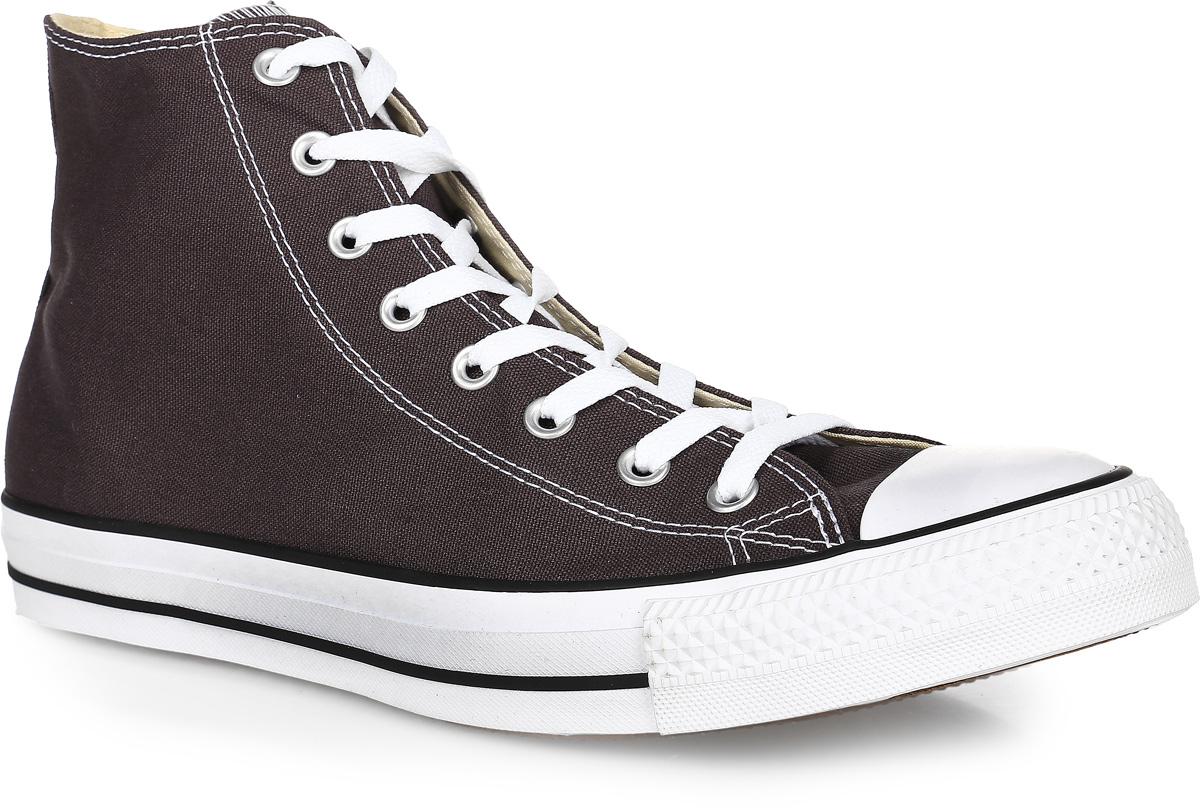 Кеды мужские Converse Chuck Taylor All Star, цвет: темно-серый. 153861. Размер 7 (40)153861Кеды Converse Chuck Taylor All Star выполнены из высококачественного текстиля и оформлены фирменной нашивкой.Внутренняя боковая дополнена люверсами. На ноге модель фиксируется с помощью шнурков. Внутренняя поверхность и стелька выполнены из текстиля, комфортного при движении. Подошва выполнена из качественной резины и дополнена протектором, который гарантирует отличное сцепление с любой поверхностью.