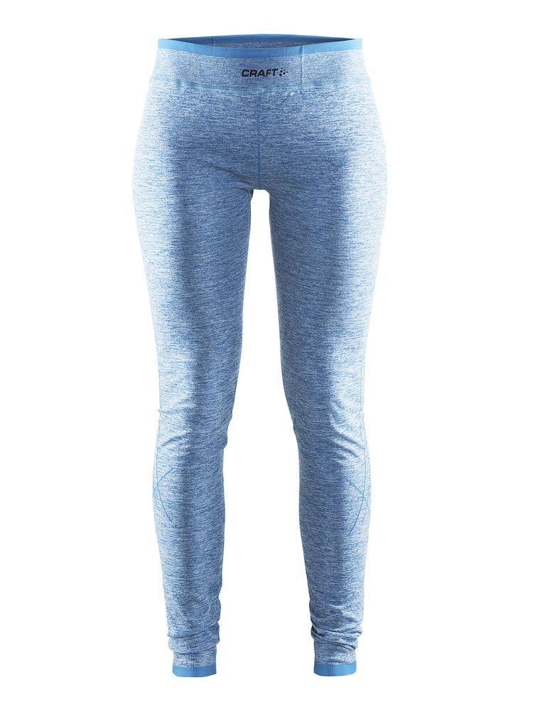 Термобелье брюки женские Craft Active Comfort, цвет: голубой. 1903715. Размер XL (50)1903715Универсальное женское термобелье. Мягкая и эластичная, легкая, но согревающая ткань термобелья сохранит ваше тело в тепле, сухости и комфорте. Прекрасная терморегуляция, свободный крой и плоские швы. Различные зоны плотности материала с учетом картографии тела. Бесшовный дизайн для оптимальной свободы движений.