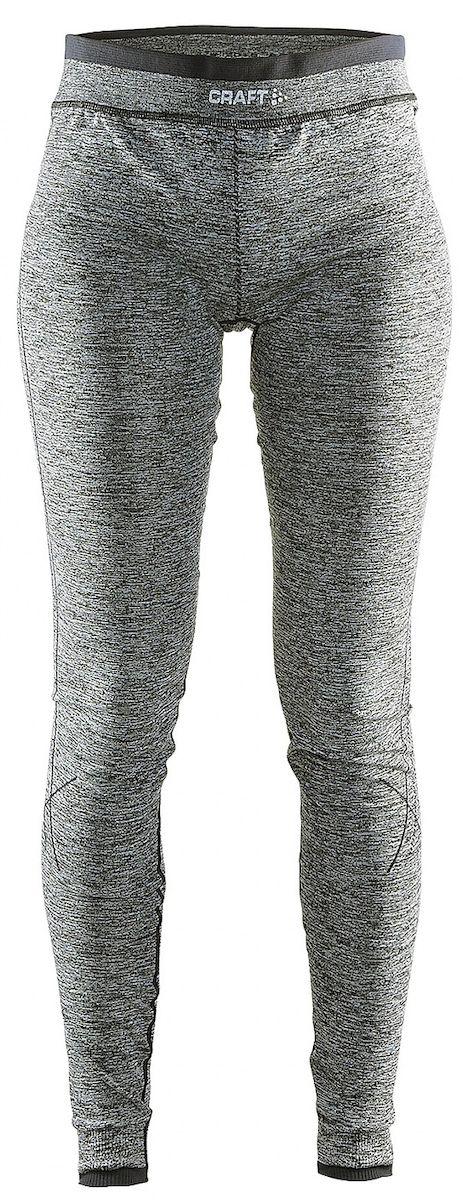 Термобелье брюки женские Craft Active Comfort, цвет: серый меланж. 1903715. Размер M (46)1903715Универсальное женское термобелье. Мягкая и эластичная, легкая, но согревающая ткань термобелья сохранит ваше тело в тепле, сухости и комфорте. Прекрасная терморегуляция, свободный крой и плоские швы. Различные зоны плотности материала с учетом картографии тела. Бесшовный дизайн для оптимальной свободы движений.
