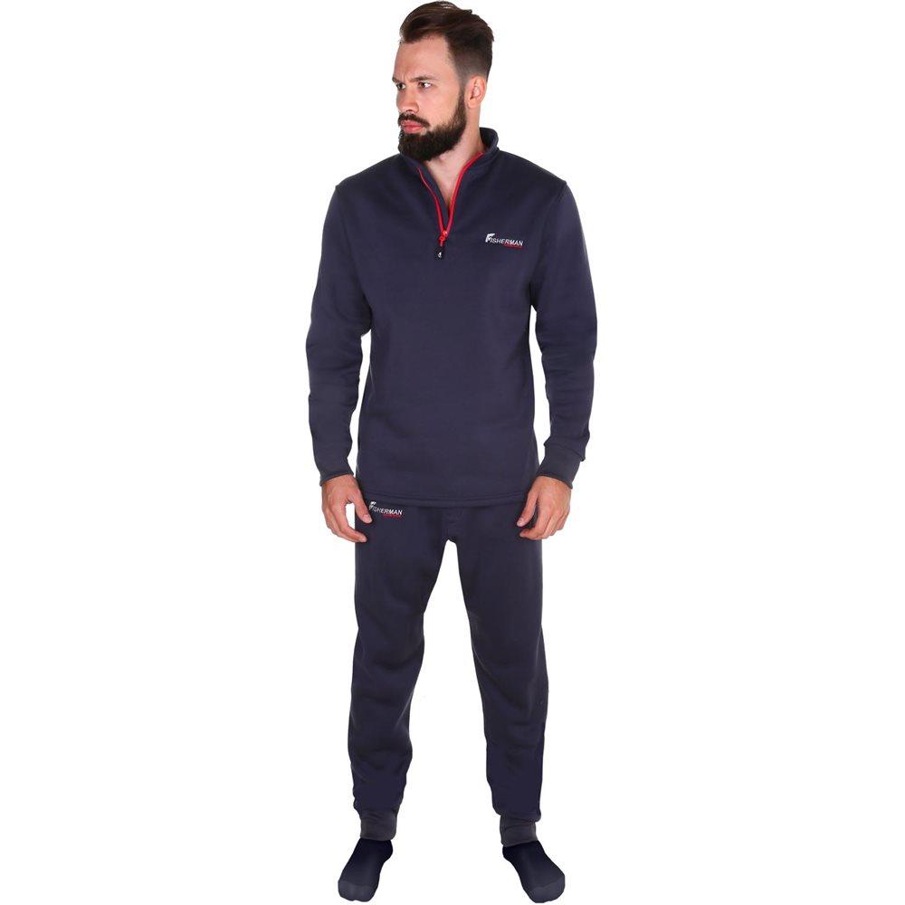 Термобелье брюки FisherMan Nova Tour Бэйс V2, цвет: графит. 95359-924. Размер M (52)95359-924Очень комфортные, удобные и теплые брюки для рыбалки. Трикотаж отлично тянется и не стесняет движений. Отличный вариант для поддевки на рыбалку в холодную погоду, не препятствует испарению и сохраняет тепло!