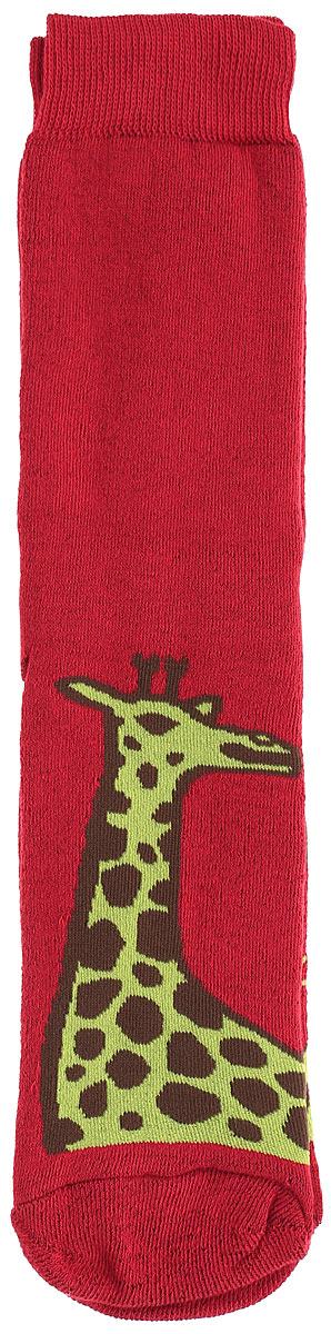 Носки мужские Big Bang Socks Жираф, махровые, цвет: темно-красный. n333. Размер 40/44n333Махровые мужские носки Big Bang Socks Жираф, изготовленные из высококачественного хлопка с добавлением полиамидных и эластановых волокон, согреют ваши ноги. Носки отличаются ярким стильным дизайном. Удобная резинка идеально облегает ногу и не пережимает сосуды.