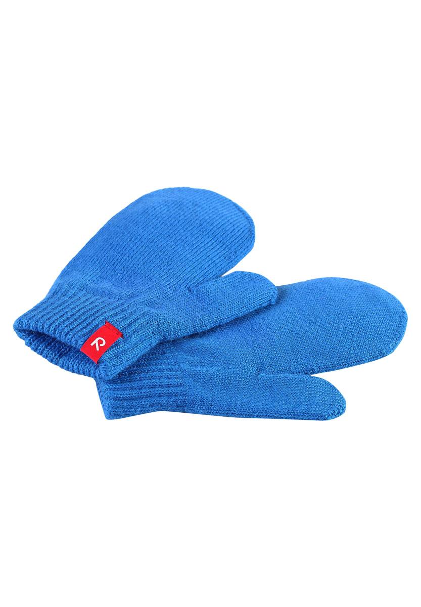 Варежки детские Reima Stig, цвет: голубой. 527211-6560. Размер 7527211-6560Варежки выполнены из упругой шерстяной вязаной смеси, которая дарит ощущение комфорта ранней осенью. Эти перчатки идеально подходят для носки под водонепроницаемыми рукавицами. Варежки с высоким качеством вязки можно стирать в машине.