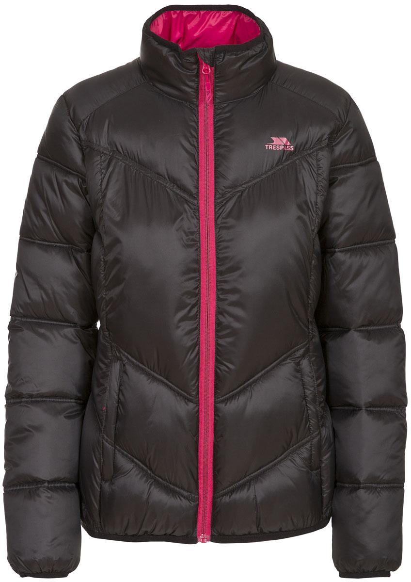 Куртка женская Trespass Nakina, цвет: черный. FAJKCAL20002. Размер XS (42)FAJKCAL20002Великолепная теплая куртка Trespass Nakina выполнена из 100% полиэстера. Утеплитель ColdHeat 200 г/м2 (синтетический, микроволоконный с функцией быстрого отвода влаги и высоким уровнем теплозащиты и износостойкости). Прекрасно подойдет как для города, так и для отдыха на природе.
