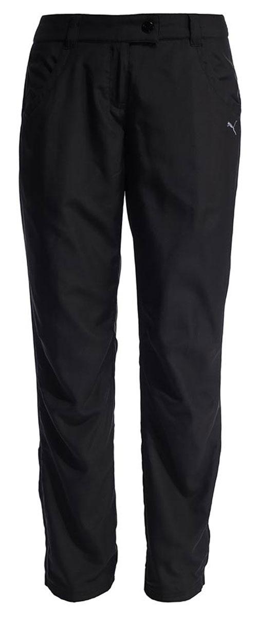 Брюки женские утепленные Puma Winter Fleece Pants W, цвет: черный. 59137901. Размер M (46)591379_01Женские утепленные брюки с флисовой подкладкой внутри. Благодаря боковым карманам, вы сможете положить необходимые вещи. Низ брючин регулируется фиксаторами.