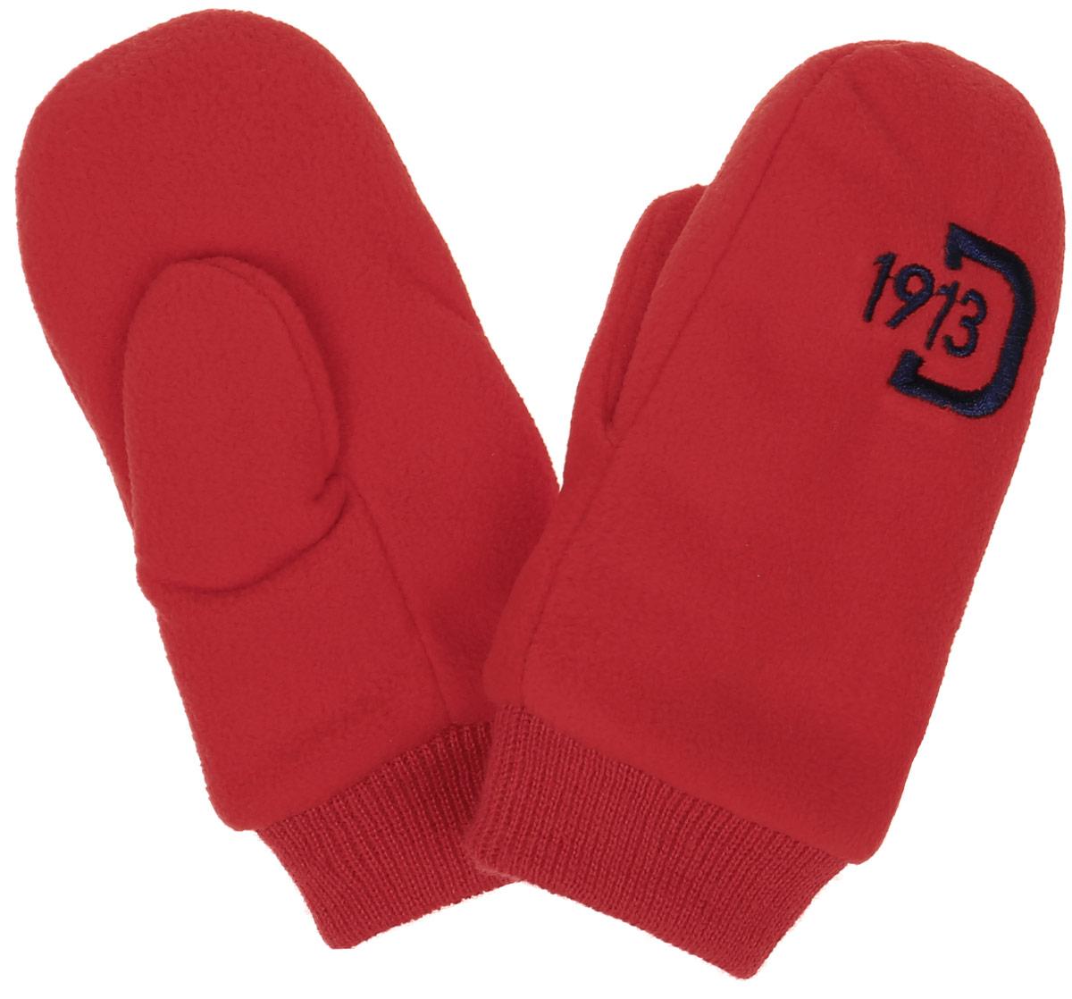 Варежки детские Didriksons1913 Kids Microfleece Gloves, цвет: красный. 501144_042. Размер 0 месяцев501144_042Детские варежки Didriksons1913 Kids Microfleece Gloves идеально подойдут вашему ребенку для прогулок, они согреют руки в прохладное время года. Изготовленные из мягкого флиса, они обладают хорошими дышащими свойствами и хорошо удерживают тепло. Модель оформлена брендовой вышивкой.Варежки дополнены широкими трикотажными манжетами, не стягивающими запястья и надежно фиксирующими варежки на руках ребенка.