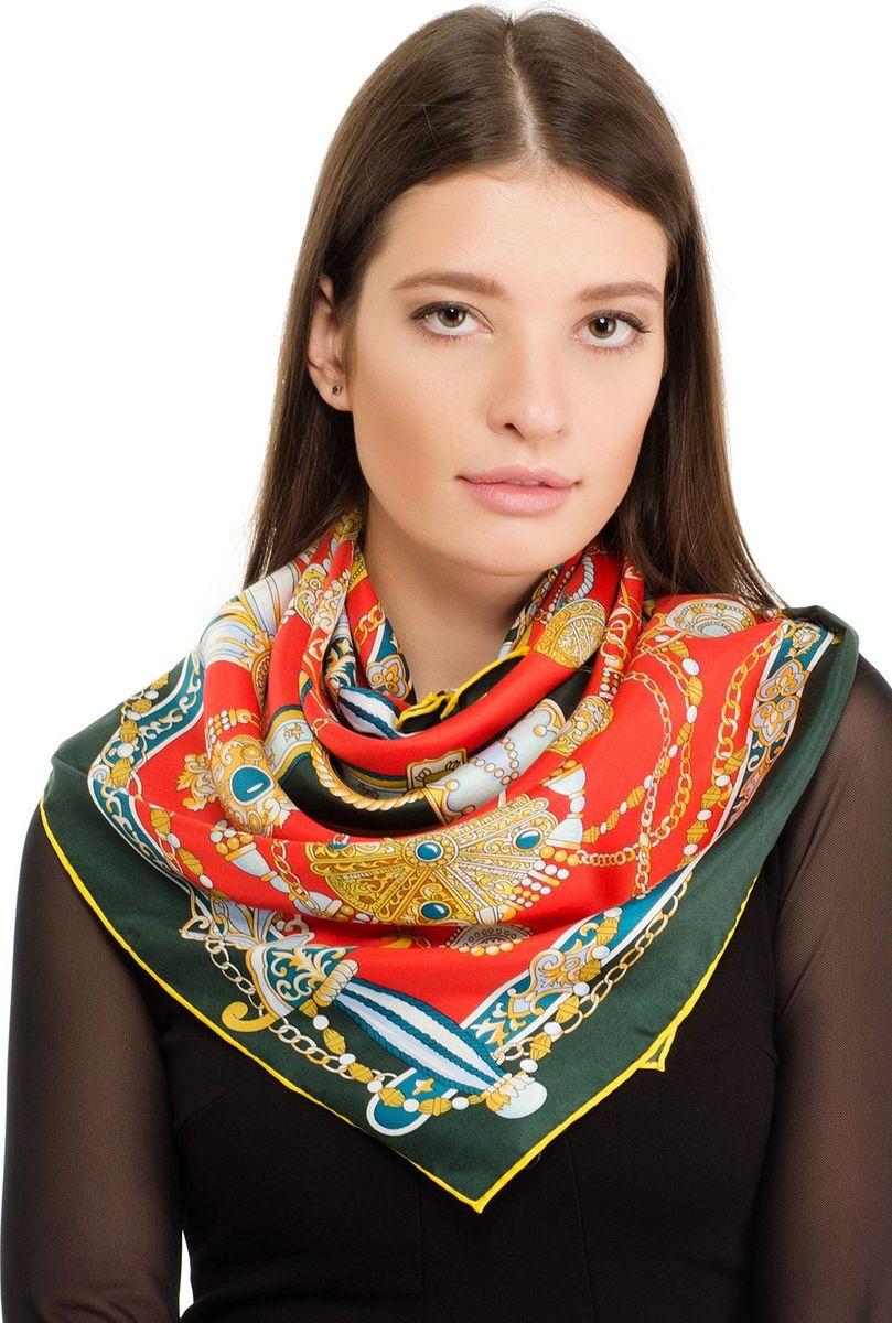 Платок женский Laccom, цвет: красный. 1103. Размер 90 см х 90 см1103СПлаток от Laccom, выполненный из высококачественного материала, приятный на ощупь и подойдет к любому стилю.