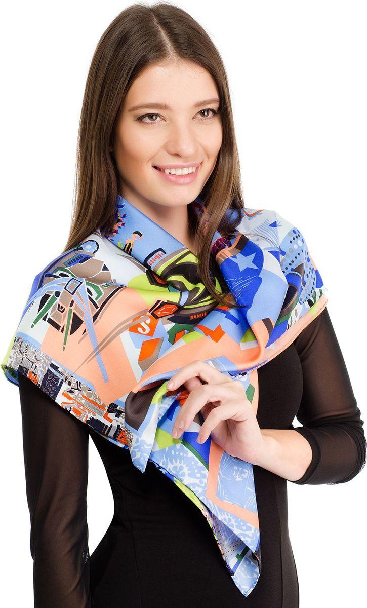 Платок женский Laccom, цвет: синий. 1104. Размер 90 см х 90 см1104GПлаток от Laccom, выполненный из высококачественного материала, приятный на ощупь и подойдет к любому стилю.
